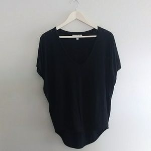{Express} One Eleven Black Short Sleeve Tee